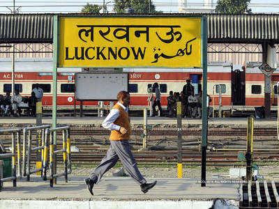 लखनऊ रेलवे स्टेशन पर हुआ इंतजाम