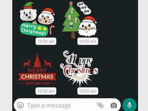 Christmas पर खास अंदाज में दें बधाई, अपने फोटो को बनाएं Whatsapp स्टिकर