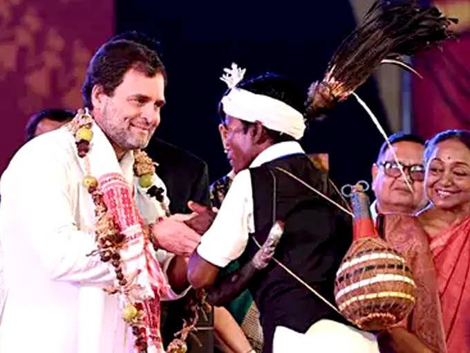 राहुल गांधी का डांस...