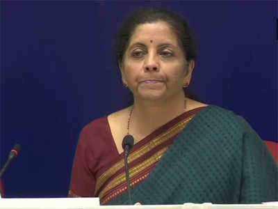 वित्त मंत्री निर्मला सीतारमण। (फाइल फोटो)
