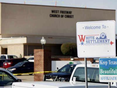टेक्सस के चर्च में गोलीबारी