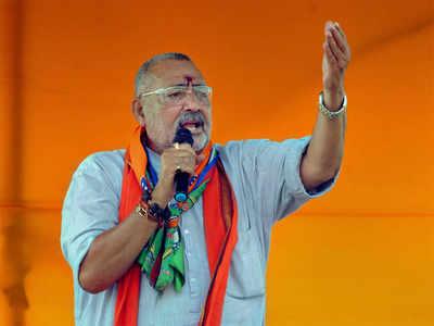 फाइल फोटो: गिरिराज सिंह