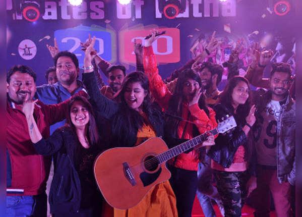 नया साल और पटना में बिखरे खुशी के रंग