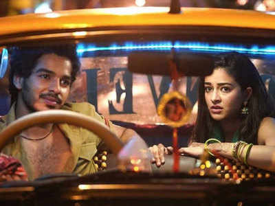 Image result for Ishaan and Ananya in khaali peeli bollywood first look