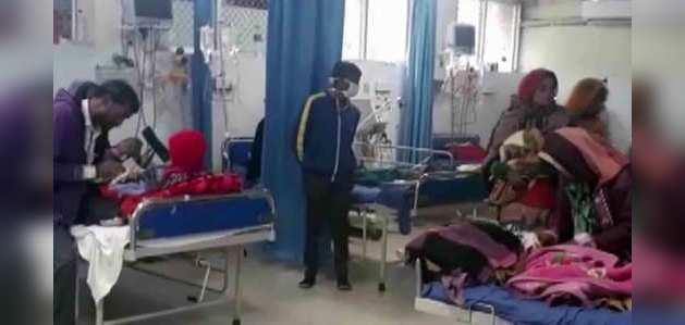 कोटा में बढ़ा बच्चों की मौत का आंकड़ा, अब तक 100 बच्चों की मौत