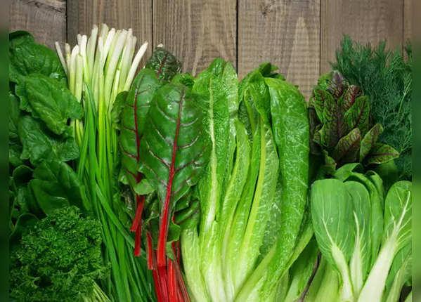 हरी सब्जियां और चुकंदर