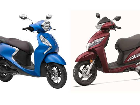 Yamaha Fascino 125 vs Honda Activa 125
