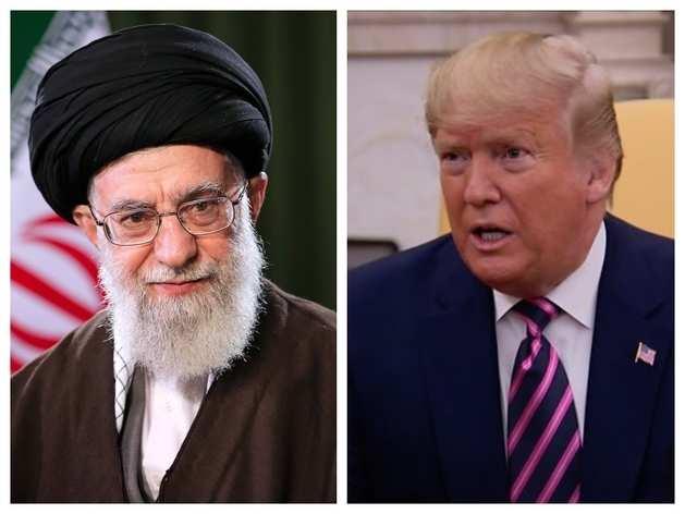 ईरान के सुप्रीम लीडर और अमेरिकी राष्ट्रपति