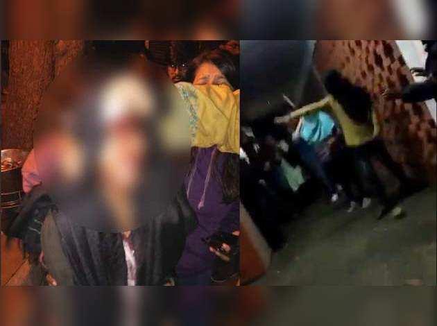 JNU छात्रसंघ अध्यक्षा आएशी घोष, स्टूडेंट्स पर मास्क पहने लोगों ने किया हमला