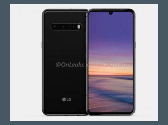 LG G9 स्मार्टफोन में होंगे 4 रियर कैमरे, देखें लीक फोटो