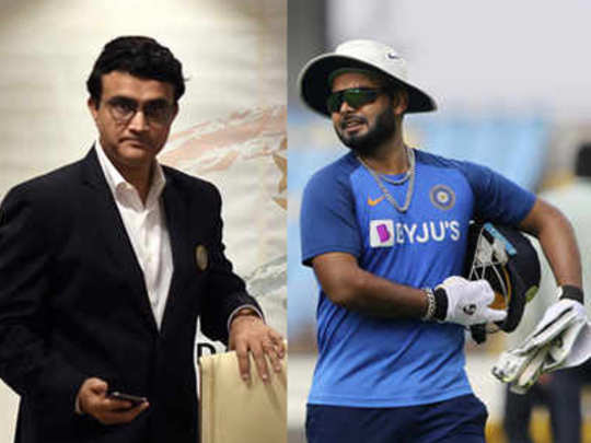 Rishabh-Pant-and-Sourav-Gan