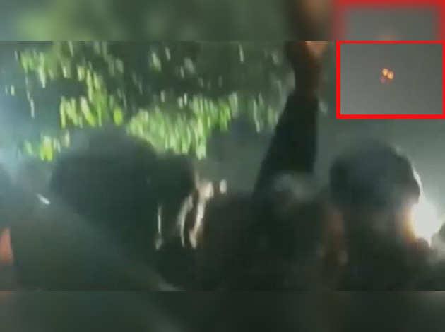 जेएनयू कैंपस में दिखा ड्रोन