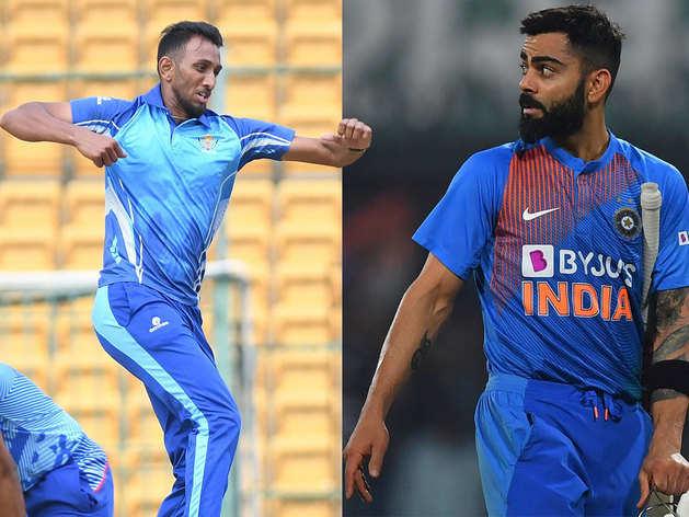 T20 वर्ल्ड कप में प्रसिद्ध कृष्णा होंगे भारत के सरप्राइज पैकेज?