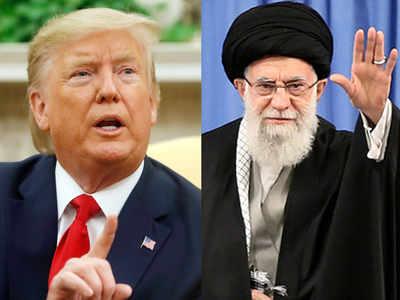 डॉनल्ड ट्रंप और ईरानी सुप्रीम लीडर