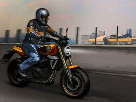 Harley-Davidson Small bike
