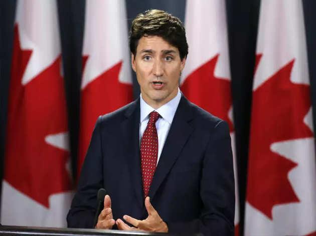 कनाडा के प्रधानमंत्री जस्टिन ट्रूडू