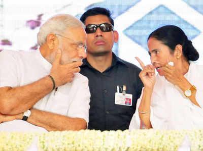 प्रधानमंत्री नरेंद्र मोदी की ममता बनर्जी से होगी मुलाकात