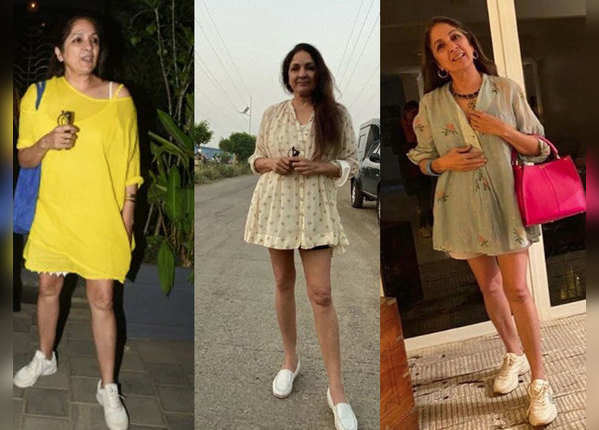 देखें, नीना गुप्ता की फैशन गोल्स देती तस्वीरें