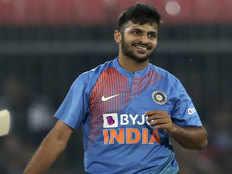भारत vs श्रीलंका- बल्ले से योगदान देकर खुश हूं: शार्दुल ठाकुर