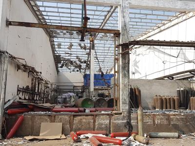 वडोदरा में गैस प्लांट में विस्फोट के बाद चूर-चूर हुई छत