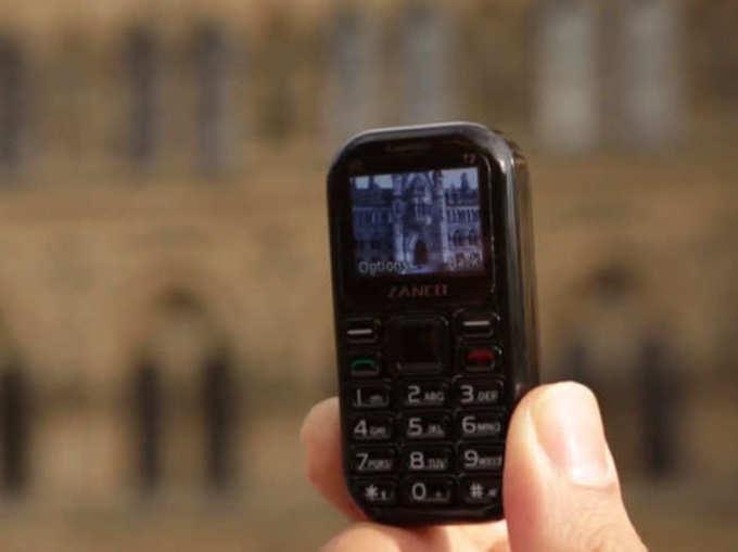३ इंचांचा फोन अन् ७ दिवसांचा बॅटरी बॅकअप
