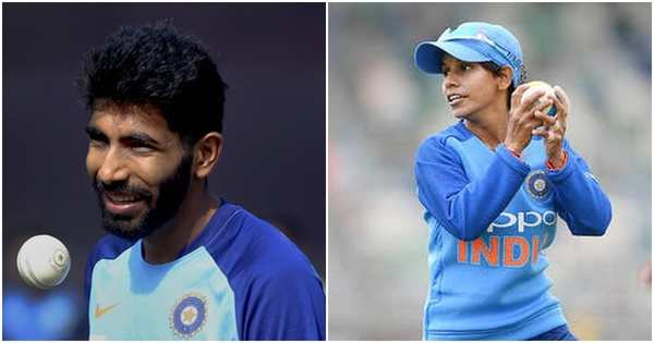 indian pacer jasprit bumrah to receive polly umrigar award