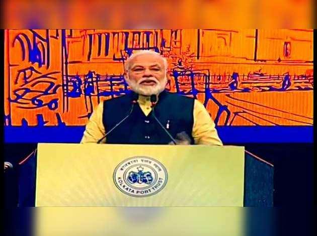 नरेंद्र मोदी ने कोलकाता पोर्ट ट्रस्ट का नाम बदलकर श्यामा प्रसाद मुखर्जी पोर्ट ट्रस्ट किया