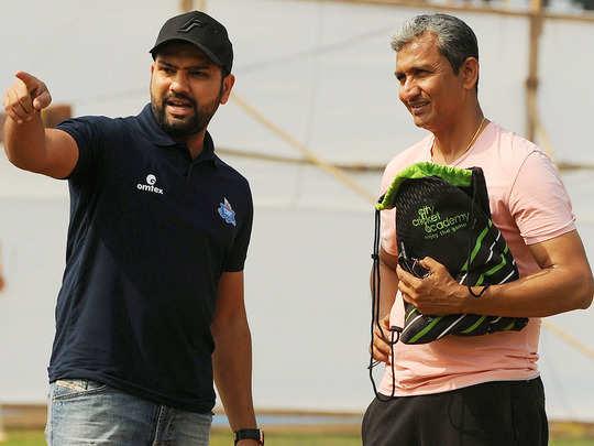 rohit sharma and sanjay bangar