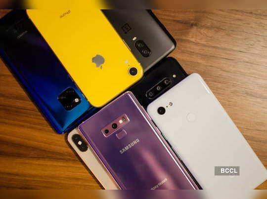 smartphone sales increased in recession period