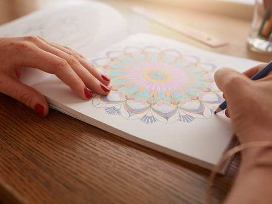 Benefits of adult colouring book