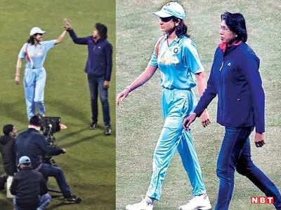 शूटिंग के दौरान अनुष्का शर्मा