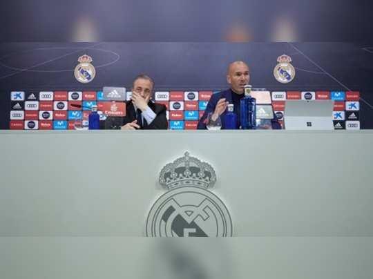 Florentino Perez Zinedine Zidane