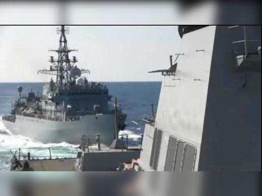 अरबी समुद्रात रशिया-अमेरिकेच्या युद्धनौकांची झटापट