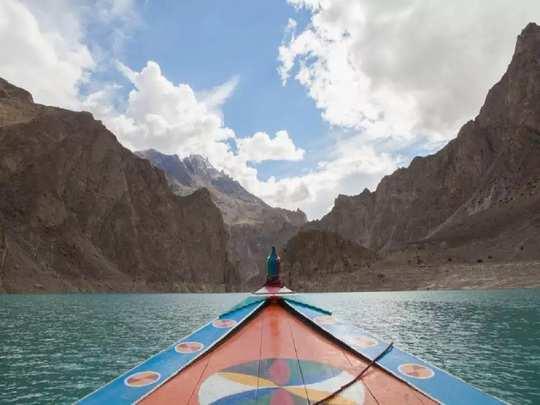 attabad lake 2020