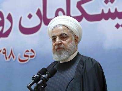ईरान के राष्ट्रपति हसन रूहानी