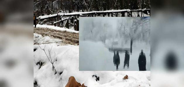 जम्मू-कश्मीर: हिमस्खलन में 6 जवान समेत 12 लोगों की मौत