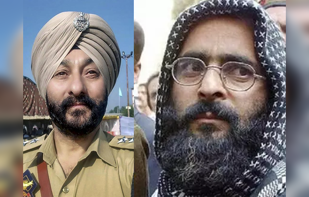 विवादों के घेरे में डीएसपी देविंदर सिंह