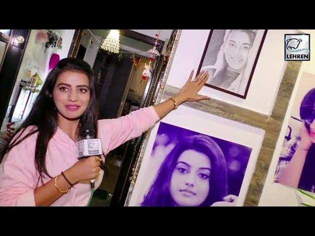 देखें,भोजपुरी ऐक्ट्रेस अक्षरा सिंह के अलिशान घर का विडियो
