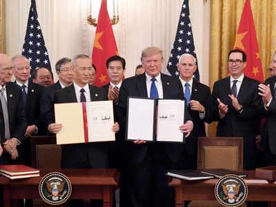 अमेरिका और चीन के बीच हुआ समक्षौता