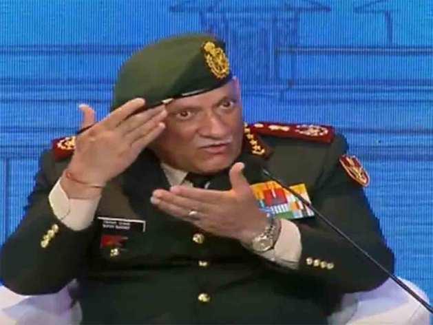 सीडीएस जनरल बिपिन रावत।
