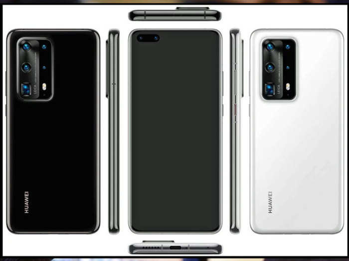 Huawei P40 Pro में होंगे 7 कैमरे, लॉन्च से पहले लीक हुई तस्वीर