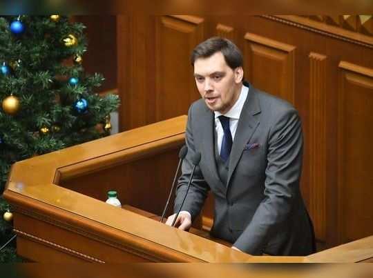 युक्रेनच्या पंतप्रधानांचा राजीनामा