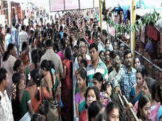 a person who stand in queue died after heart attack at tirupati temple campus