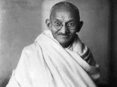 महात्मा गांधी।
