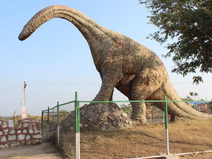 डायनॉसॉर फॉसिल्स पार्क
