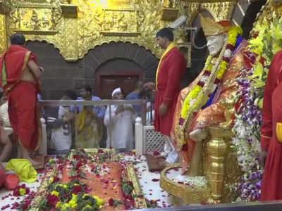 शिरडी स्थित साईं बाबा मंदिर (फाइल फोटो)