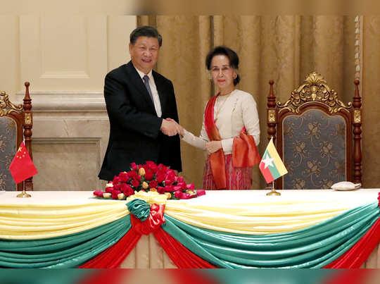 म्यानमारमधील 'कॉरिडॉर'वर चीनचा डोळा