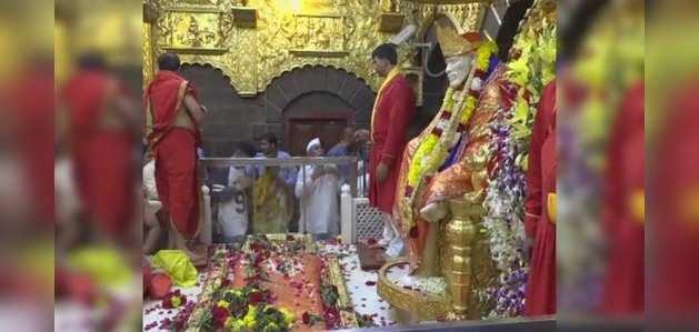 साई जन्मस्थान को लेकर विवाद और बढ़ा, शिरडी बंद लेकिन मंदिर खुला
