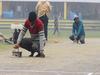 यूपीसीए ने इस्तरी से सुखाई कानपुर कमला क्लब की पिच