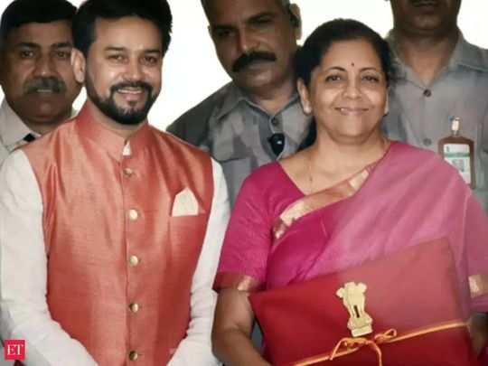 Budget nirmala and Anurag